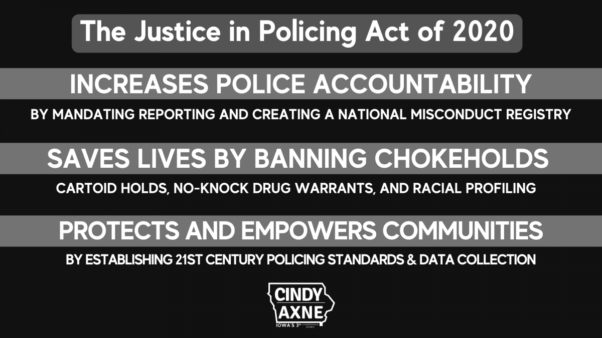 Justice in Policing Act of 2020