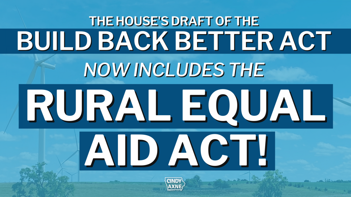 Rural Equal Aid Act