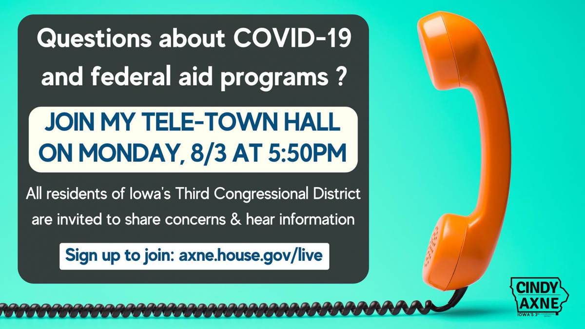 Join my tele-town hall